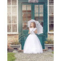 Lovely Handmade First Holy Communion Dress Style CARMELA