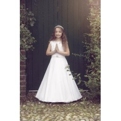 Lovely Handmade First Holy Communion Dress Style AURA