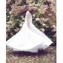 Elegant Satin Handmade First Holy Communion Dress Style ELSA