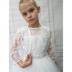 First Holy Communion Lace Bolero Style CB12