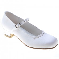 White First Holy Communion Shoes Style 5371