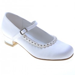 White First Holy Communion/Special Occasion Shoes Style 5374