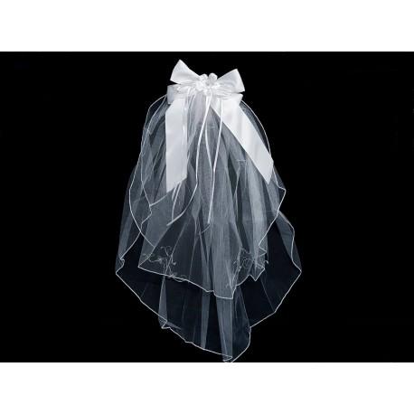 White First Holy Communion Veil Style CV164
