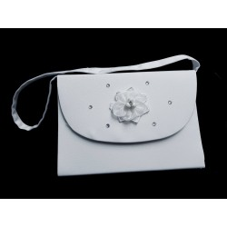 White First Holy Communion Bag Style 6004