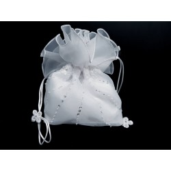 White First Holy Communion Handbag Style 6001