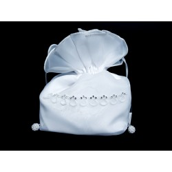 White First Holy Communion Handbag Style 6018