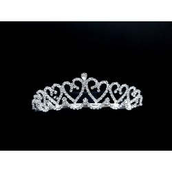 Silver First Holy Communion Tiara Style 5880/CH225