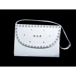 White First Holy Communion Handbag Style CB078