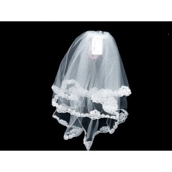 White First Holy Communion Veil Style 2058