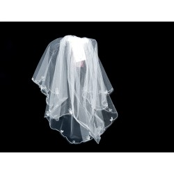 White First Holy Communion Veil Style 2092