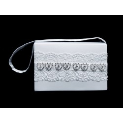 White First Holy Communion Handbag Style 5385