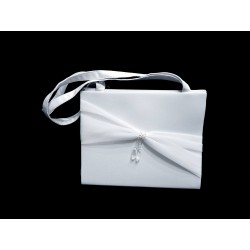 Elegant White First Holy Communion Handbag Style 4034