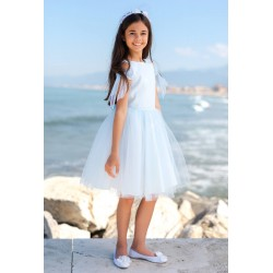 Beautiful Blue Confirmation/Special Occasion Dress Style 10D/SM/19