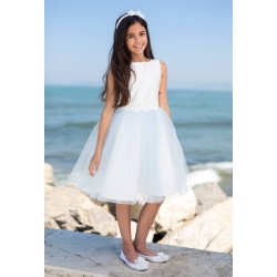 Blue&Ivory Confirmation/Special Occasion Dress Style 11D/SM/19