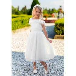 Beautiful Ivory Confirmation Dress Style 15A/SM/19