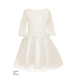 Elegant Ivory Confirmation Dress Style 22/SM/19