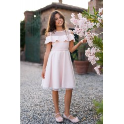 Gorgeous Pink Confirmation Dress Style 26B/SM/19