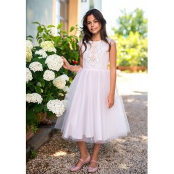 Beautiful Pink Confirmation Dress Style 28/SM/19