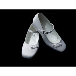 Mireio Couture White First Holy Communion Shoes Style CHRISTINE