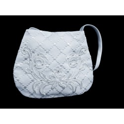 White First Holy Communion Handbag Style 6011