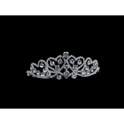 Silver First Holy Communion Tiara by Little People Style 5861