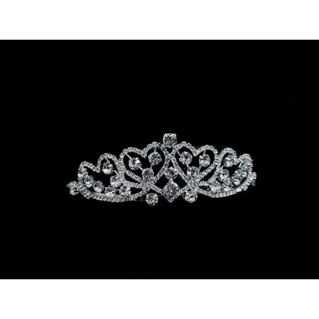 a256c9ddbce72 Silver First Holy Communion Tiara by Little People Style 5861