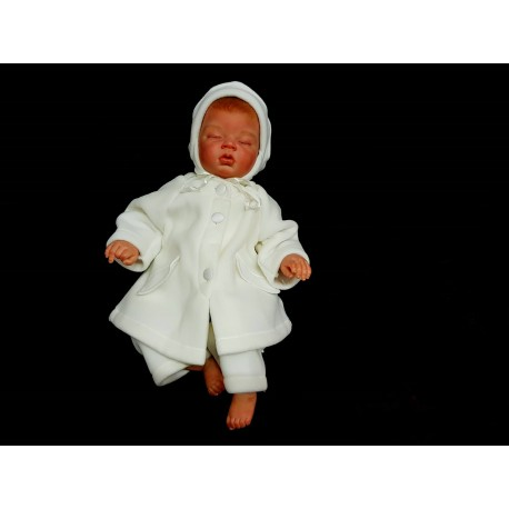 1134f17cc007 3 PCS Winter Fleece Set For Baby Girl Style CALIA