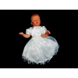 Simple White Christening Dress Style ANGELA