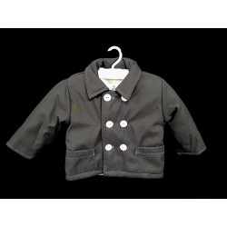 Grey Christening/Special Occasion Baby Boy Jacket Style J006