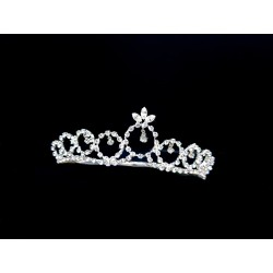 Silver First Holy Communion Tiara by Little People Style 5867