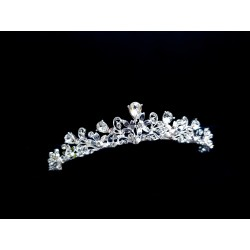 Silver First Holy Communion Tiara by Little People Style 5857