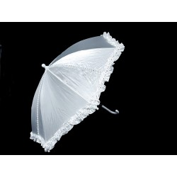 White First Holy Communion Umbrella Style 666