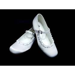 Satin First Holy Communion Shoes Style 5819