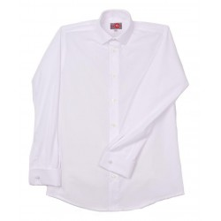 Plain White First Holy Communion/Special Occasion Shirt Style 10-06069