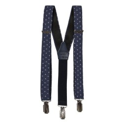 Navy Anchor First Holy Communion/Special Occasion Boys Suspenders Style 10-09011C