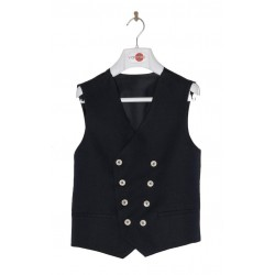 Navy First Holy Communion/Special Occasion Waistcoat Style 10-10007