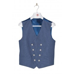 Blue First Holy Communion/Special Occasion Waistcoat Style 10-10010