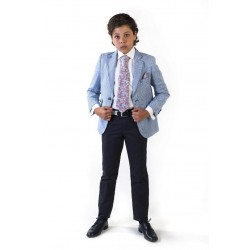 Blue First Holy Communion/Special Occasion Jacket Style 10-04028