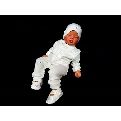 Ivory 3 Pcs Baby Girl Grow Set Style 05231