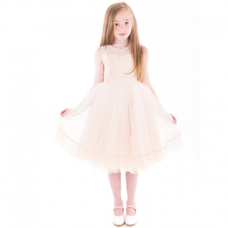 Peach Confirmation/Special Occasion Dress Style 1132
