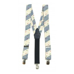 Stripey Holy Communion/Special Occasion Suspenders Style 10-09009C