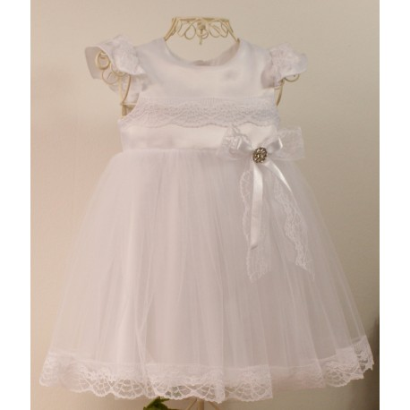 White Christening/Special Occasion Dress Style LUIZA
