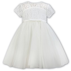 Sarah Louise White Christening Dress Style 070102-1