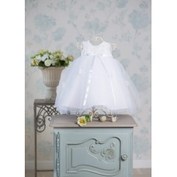 White Christening/Special Occasion Dress Style CARINA WHITE