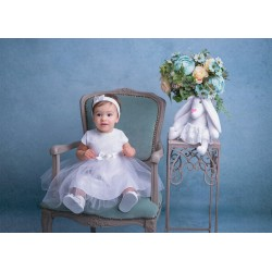 White Christening/Special Occasion Dress Style BLANCA BIS