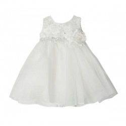 Ivory Baby Girl Christening Dress Style PENNY