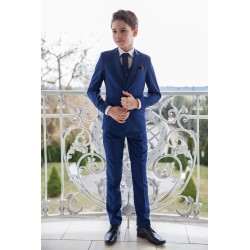 Navy 3 Piece First Holy Communion Suit Style ZOLDO