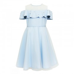 Gorgeous Blue Confirmation Dress Style 26C/SM/19