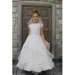Handmade First Holy Communion Dress Style ROSALINDA