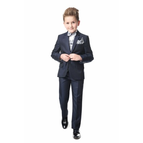 5 Piece Navy First Holy Communion Suit Style ENZO